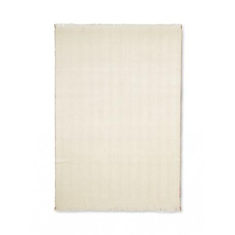 Herringbone blanket - off-white