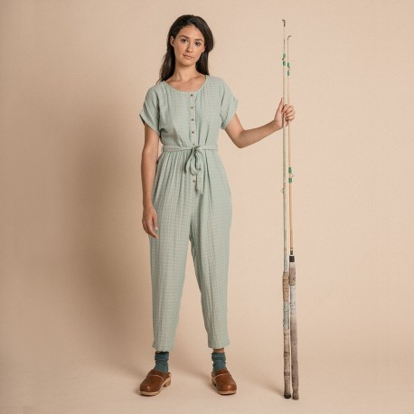Women Joya jumpsuit - Azure