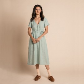 Women Cassia dress - Azure