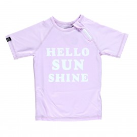 """Hello Sunshine"" UV swim tee"