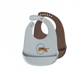 Bib Tiger, Set of 2