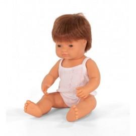 BABY DOLL REDHEAD BOY 38CM