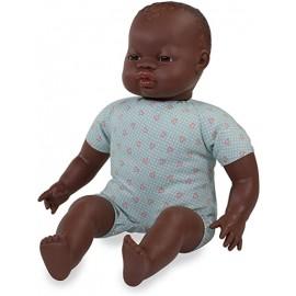 BABY DOLL AFRICAN SOFTBODY 40CM
