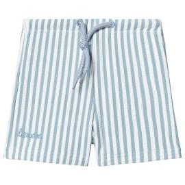 Otto Swim Pants - Sea blue/white