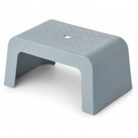 Ulla step stool - sea blue
