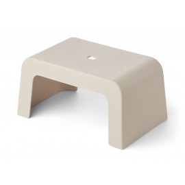 Ulla step stool - sandy