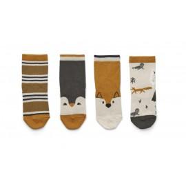 Silas cotton socks - 4pack - Arctic mix