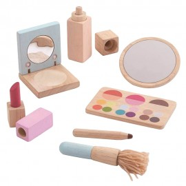 Wooden make up set