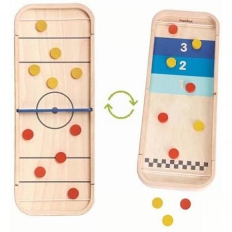 2 in 1 shuffleboard game