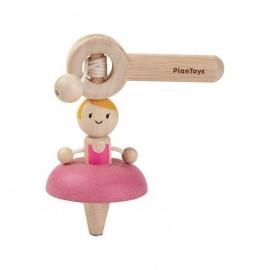 Ballet spinning top