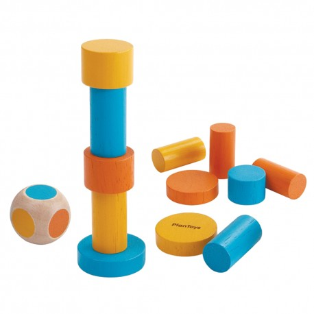 Wooden stacking game