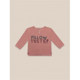 Pillow Tester Buttoned T-shirt - baby