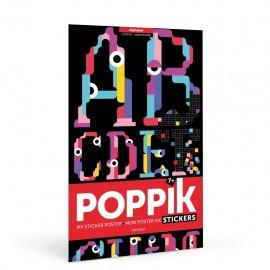 Sticker Poster - Alphabet
