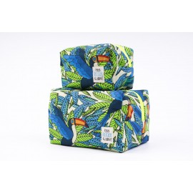 Cube Pouch Tucan- Large
