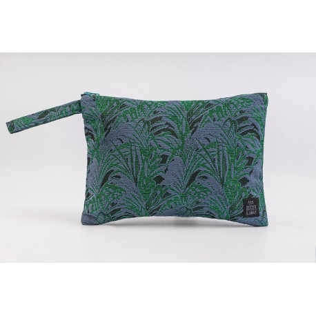 Flat Pouch Emerald - Small