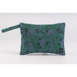 Flat Pouch Emerald - Large