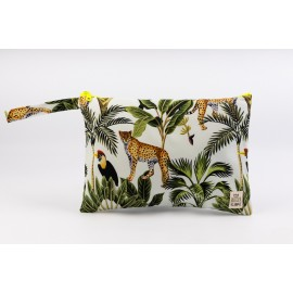 Flat Pouch Jungle - Medium