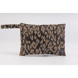 Flat Pouch Leo-Bronze - Small