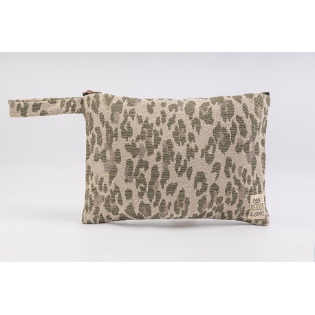 Flat Pouch Leo-Camouflage - Small
