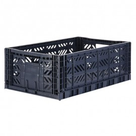 Aykasa folding crate - Maxi navy