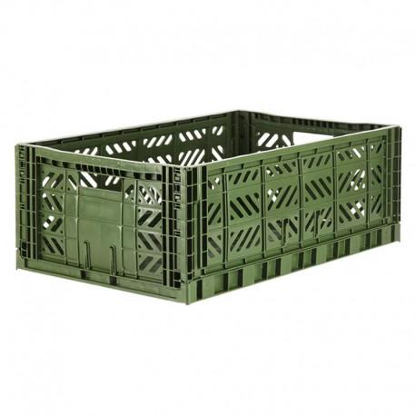 Aykasa folding crate - Maxi khaki