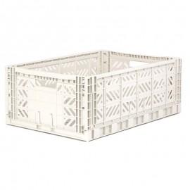 Aykasa folding crate - Maxi coconut milk