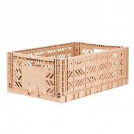 Aykasa folding crate - Maxi milk tea
