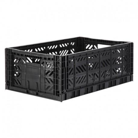 Aykasa folding crate - Maxi black