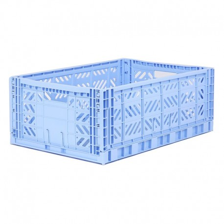 Aykasa folding crate - Maxi baby blue