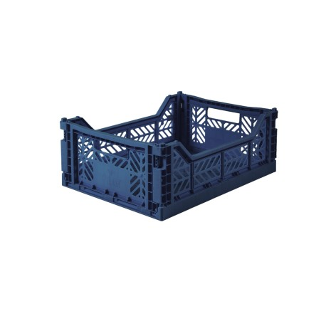 Aykasa folding crate - Midi navy