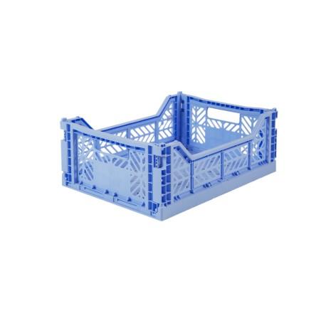 Aykasa folding crate - Midi baby blue
