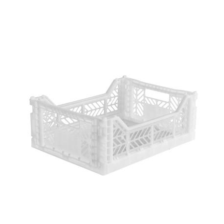 Aykasa folding crate - Midi white