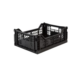 Aykasa folding crate - Midi black