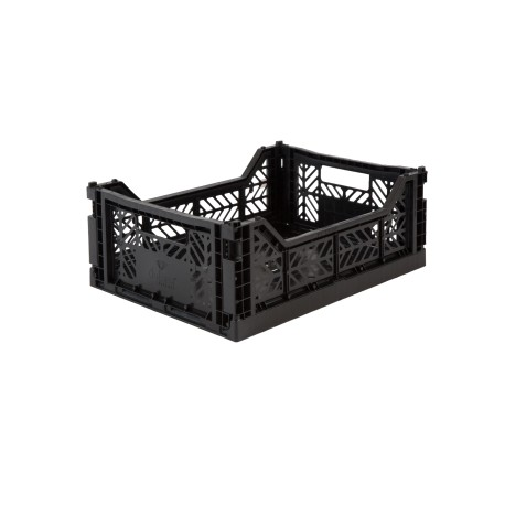 Aykasa folding crate - Midi black