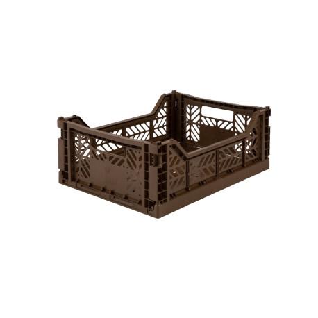 Aykasa folding crate - Midi brown