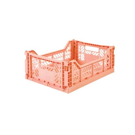 Aykasa folding crate - Midi salmon