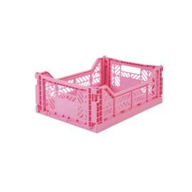 Aykasa folding crate - Midi baby pink