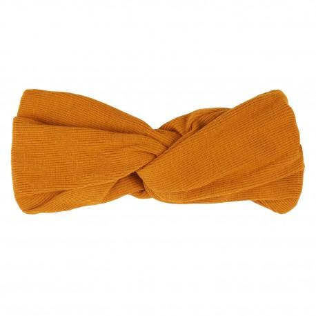 Twisted headband - orange