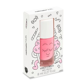 Nail polish - Pink glitters - kitty