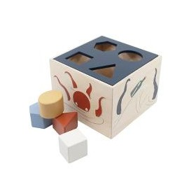 Wooden shape sorter Seven seas