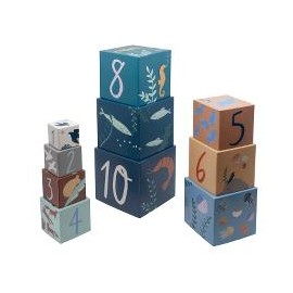 Stacking blocks, 10 pcs., Seven Seas/Daydream