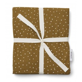 Carl single bedding - Confetti olive