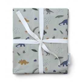 Carmen baby bedding - Dino dove blue