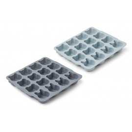 Sonny ice cube tray- 2pack - blue