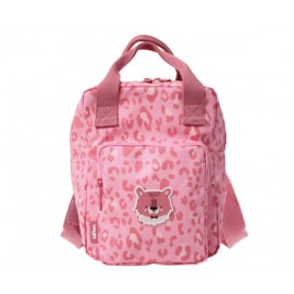 Backpack Cheetah Print (age 4-8)