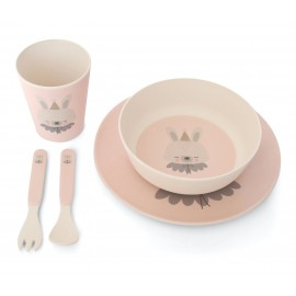 Bamboo Eco Dinner Set Circus Bunny