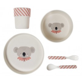 Bamboo Eco Dinner Set Circus Koala