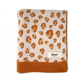 Blanket Leopard Brown