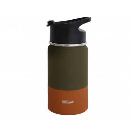 Stainless Steel Tumbler – Green/Palm