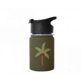 Stainless Steel Tumbler Palm Tree